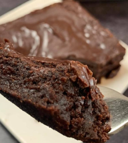 Simple Lunch Lady Brownies Recipe With Chocolate Frosting