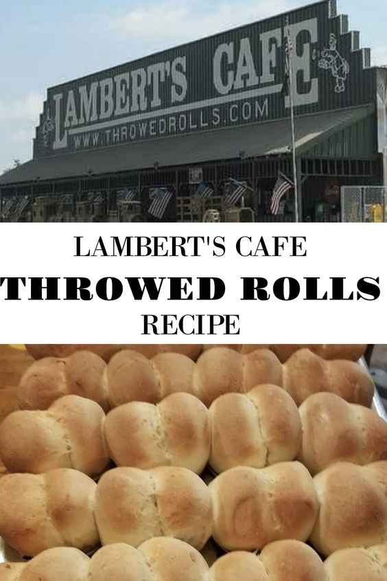 Make Lambert\'s Famous Throwed Rolls At Home