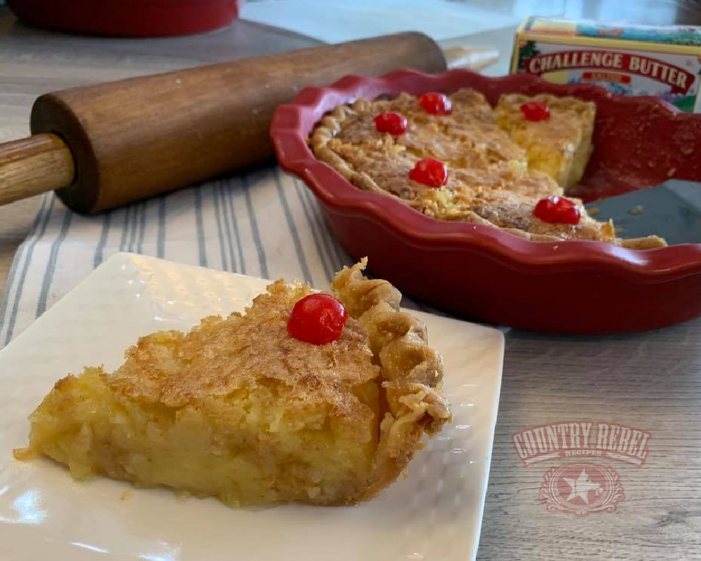 7-Ingredient Pineapple Pie Recipe From Johnny Cash's Mom