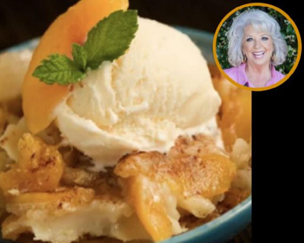 Paula Deen's Famous Peach Cobbler Recipe