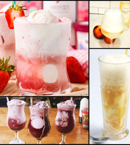 """Wine Floats Are Summer's """"Coolest"""" Trend"""